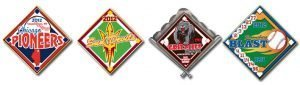 Examples of our quick trading pins. They can be made and shipped to you in as little as 4 business days.