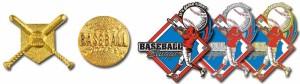 Baseball Stock Trading Pins