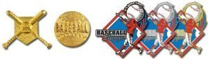 Baseball Stock Trading Pins