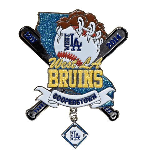 West LA Bruins Soft Enamel Trading Pin Example