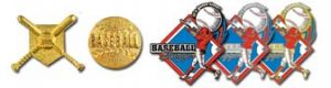 Stock Basebal Trading Pins