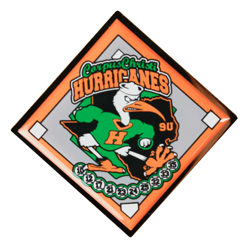 Hurricanes Quick Sports Trading Pin