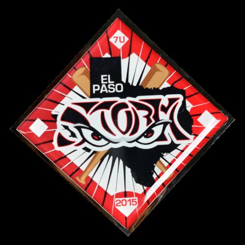 El Paso Storm Quick Baseball Trading Pin