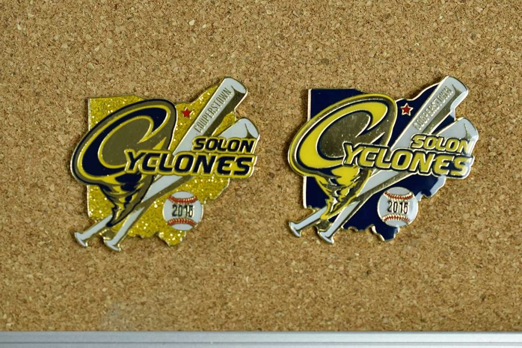 Cyclone baseball trading Pin