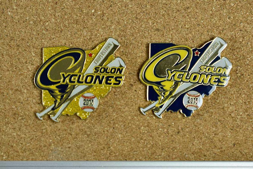 Cyclone baseball trading Pin