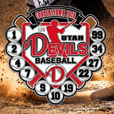 Southpaw Baseball Trading Pin